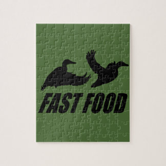 Fast food waterfowl puzzle