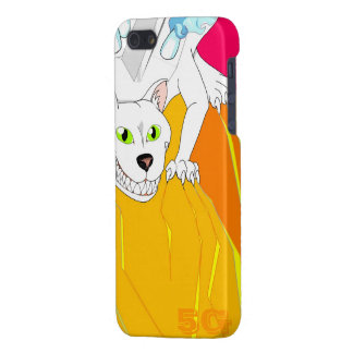Faster Motor Cat iPhone 5/5S Covers