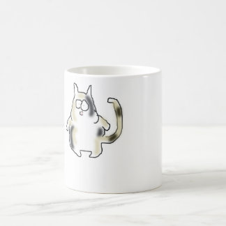 Fat Bowlegged Cat Coffee Mug
