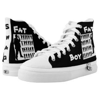 Fat Boy Swag High Top Shoes