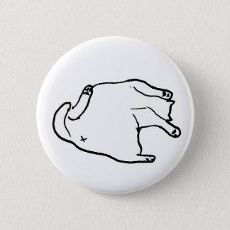 Fat Cat #2 6 Cm Round Badge