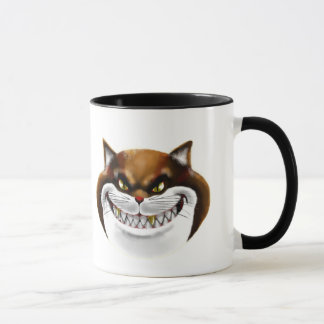 Fat Cat Face Mug