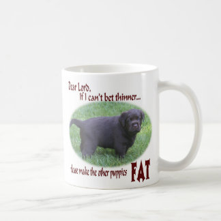 Fat Chocolate Lab Mug
