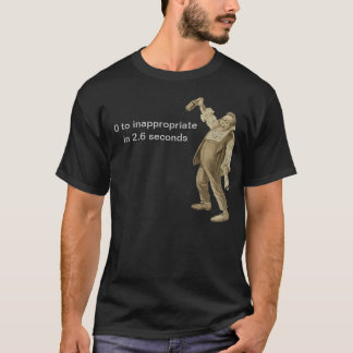 Fat Drunk Guy! T-Shirt