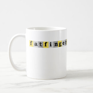 fat fingers mug