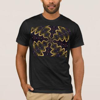 Fat Golden X Kaleidoscope T-Shirt