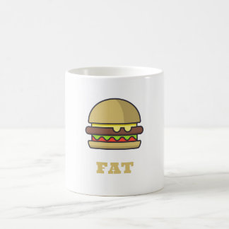 Fat Hamburger Coffee Mug