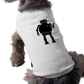 Fat Happy Robot Shirt