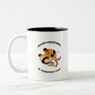 Fat Love Two-Tone Coffee Mug