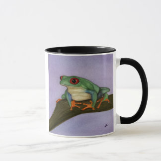 Fat Red Eyed Tree Frog Mug