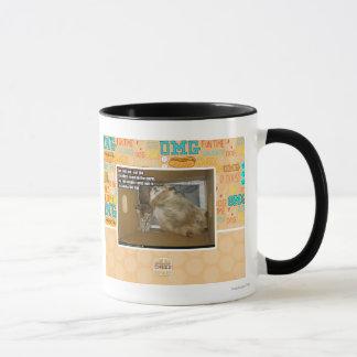 Fat roommate mug