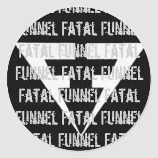 Fatal Funnel band stickers