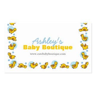 fatfatin Silly Duckies Custom Business Card