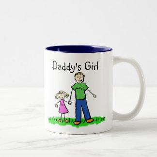 Father and Daughter Mug (Customize Names)