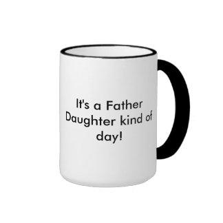 Father Daughter day Ringer Mug