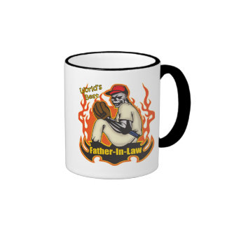 Father-in-law Baseball Father's Day Gifts Ringer Mug