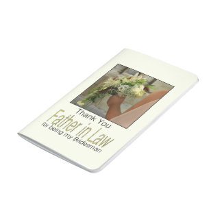 Father in Law Bridesman thank you Journals