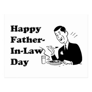 Father-In-Law Day Postcard