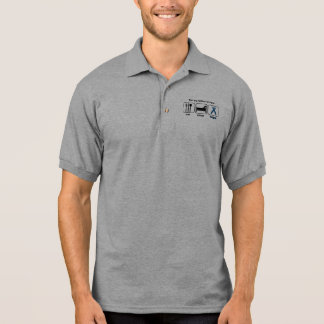 Father-in-law Eat Sleep Hope - Colon Cancer Polo T-shirt