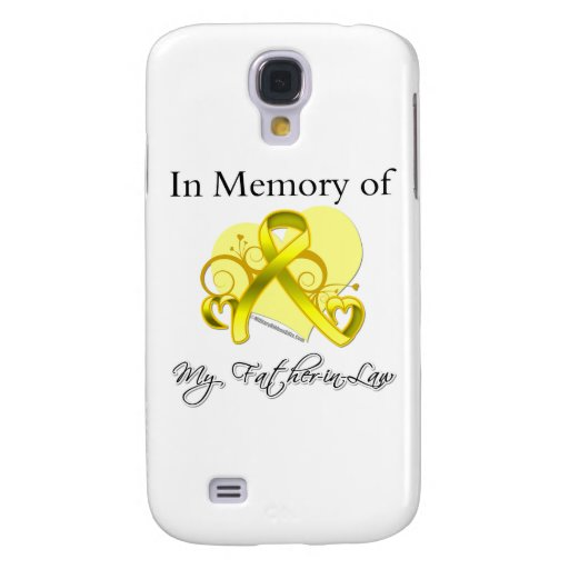 Father-in-Law - In Memory of Military Tribute Galaxy S4 Cover