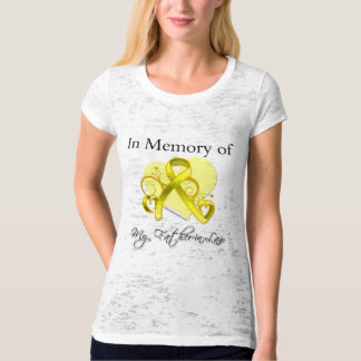 Father-in-Law - In Memory of Military Tribute Shirts