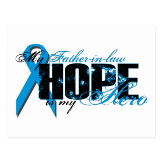 Father-in-law My Hero - Prostate Hope Post Card