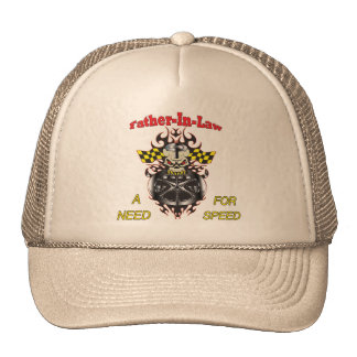 Father-in-law Need For Speed Father's Day Gifts Cap