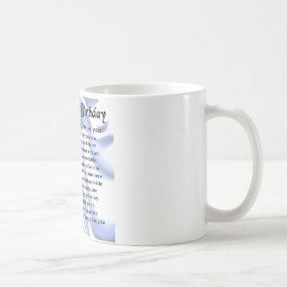 Father in Law Poem - 60th Birthday Coffee Mug