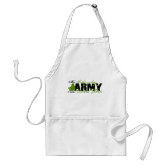 Father Law Combat Boots - ARMY Adult Apron