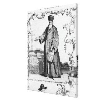Father Matteo Ricci Canvas Print