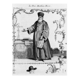 Father Matteo Ricci Postcard