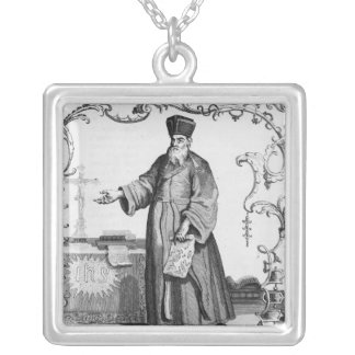 Father Matteo Ricci Silver Plated Necklace