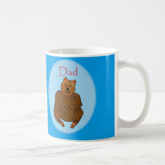 Father's Day Bear Cup