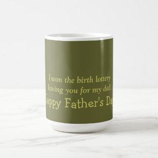 Fathers Day Basic White Mug