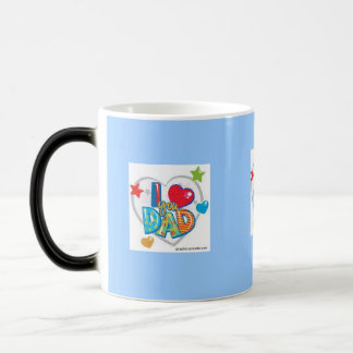 Father's Day Cup Morphing Mug