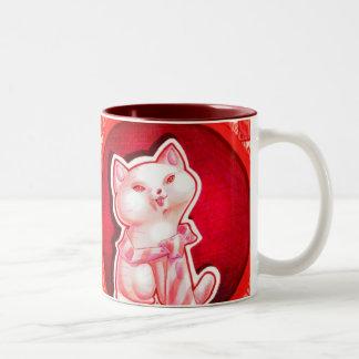Father's Day Kitten Mug