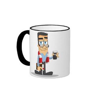Fathers Day Ringer Mug