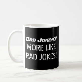 Father's Day Mug, Dad Jokes Coffee Mug