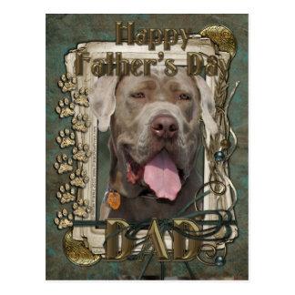 Fathers Day - Neopolitan Mastiff Postcard
