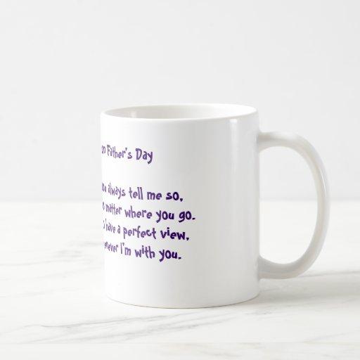 Fathers Day Poetry Mug