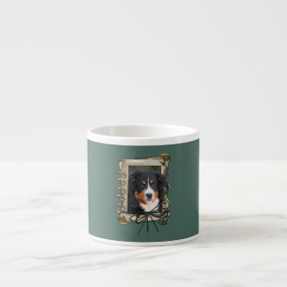Fathers Day - Stone Paws - Bernese Mountain Dog Espresso Cup