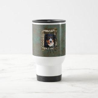 Fathers Day - Stone Paws - Bernese Mountain Dog Coffee Mug