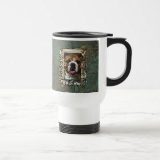 Fathers Day - Stone Paws - Bulldog Mug