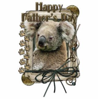Fathers Day - Stone Paws - Koala Standing Photo Sculpture