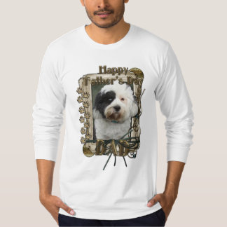 Fathers Day - Stone Paws - Tibetan Terrier - Dad T-Shirt