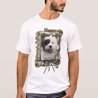 Fathers Day - Stone Paws - Tibetan Terrier T-Shirt