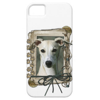 Fathers Day - Stone Paws - Whippet iPhone 5 Case