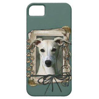 Fathers Day - Stone Paws - Whippet iPhone 5 Cover