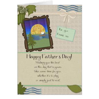 Fathers Day Tan Card