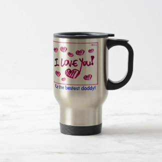Father's Day Travel Cup Stainless Steel Travel Mug